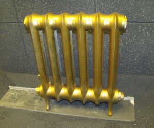 radiator restoration and blasting london