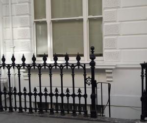 blasting of railings work central london