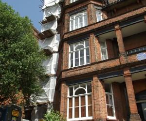 fire escape blasting london