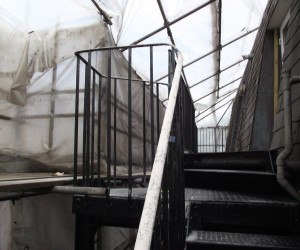 fire escape blasting in surrey