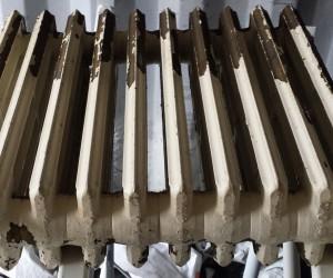 blasting of antique radiator london